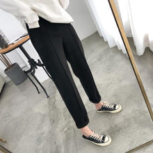 Load image into Gallery viewer, Autumn Winter Plus Size Thicken Wool Women Pencil Pants