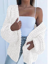 Load image into Gallery viewer, 【50% OFF】Solid Color Knitted Comfy Sweater Cardigan