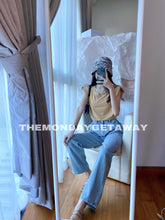 Load image into Gallery viewer, Shoulder Pad Tank (Nude) - themondaygetaway.
