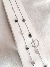 Load image into Gallery viewer, Onyx Quartz Chain