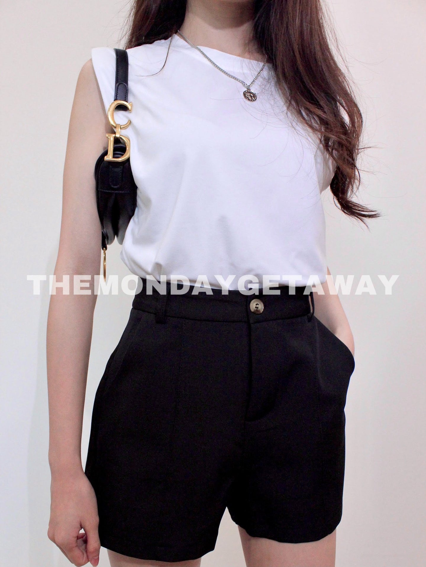 Everyday Shorts (Black) - themondaygetaway.