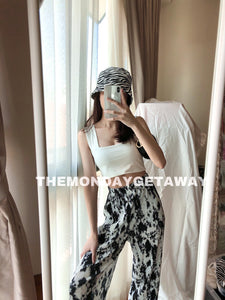 Tiffy Tiedye Pants (Black) - themondaygetaway.