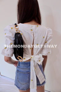 The Ellie Top - themondaygetaway.