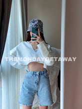 Load image into Gallery viewer, Denim Bike Shorts - themondaygetaway.