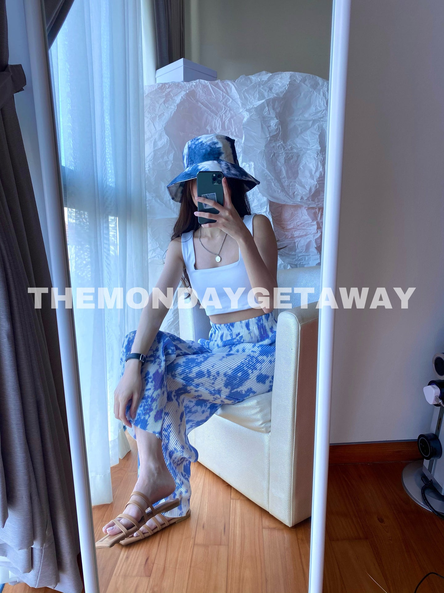 Tiedye Bucket Hat - themondaygetaway.
