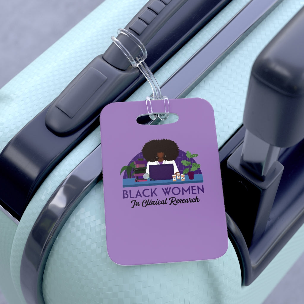 Bag Tag Purple