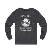 Load image into Gallery viewer, HBCU Alum Unisex Jersey Long Sleeve Tee