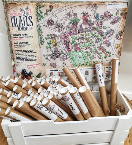 Treasure Map Trails point of sale