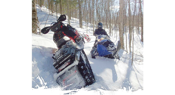 Setting Your Snowmobile Up for the Midwest Backcountry