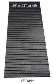 Caliber Snowmobile Trailer Trax Mats