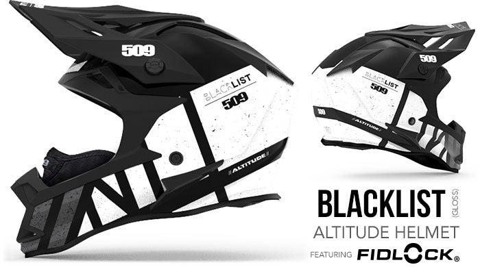 509 Altitude Helmet with Fidlock Blacklist