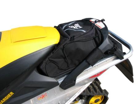 Ski Doo Tunnel Pack - Rev long track with rack