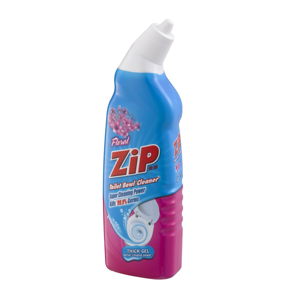 Zip Toilet Bowl Cleaner- Floral 500ml