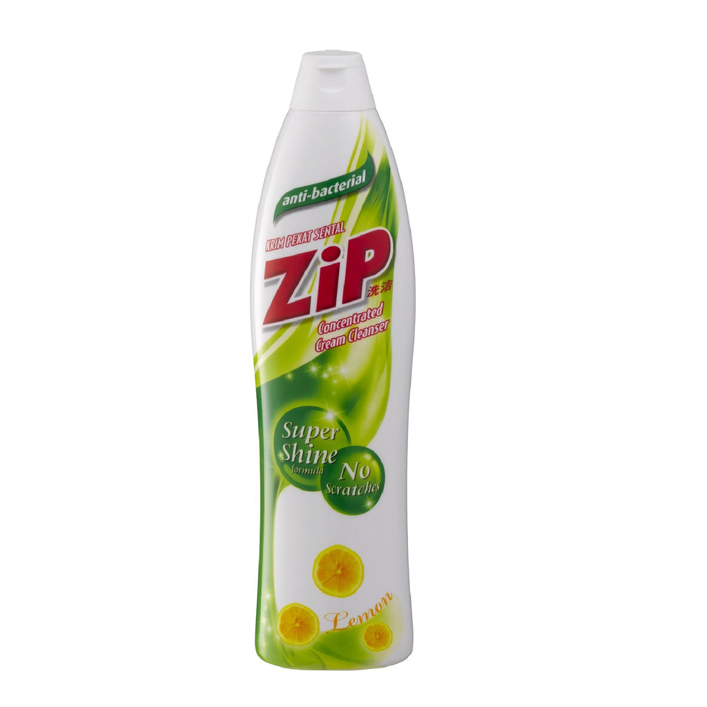 Zip Cream Cleanser- Lemon 500ml