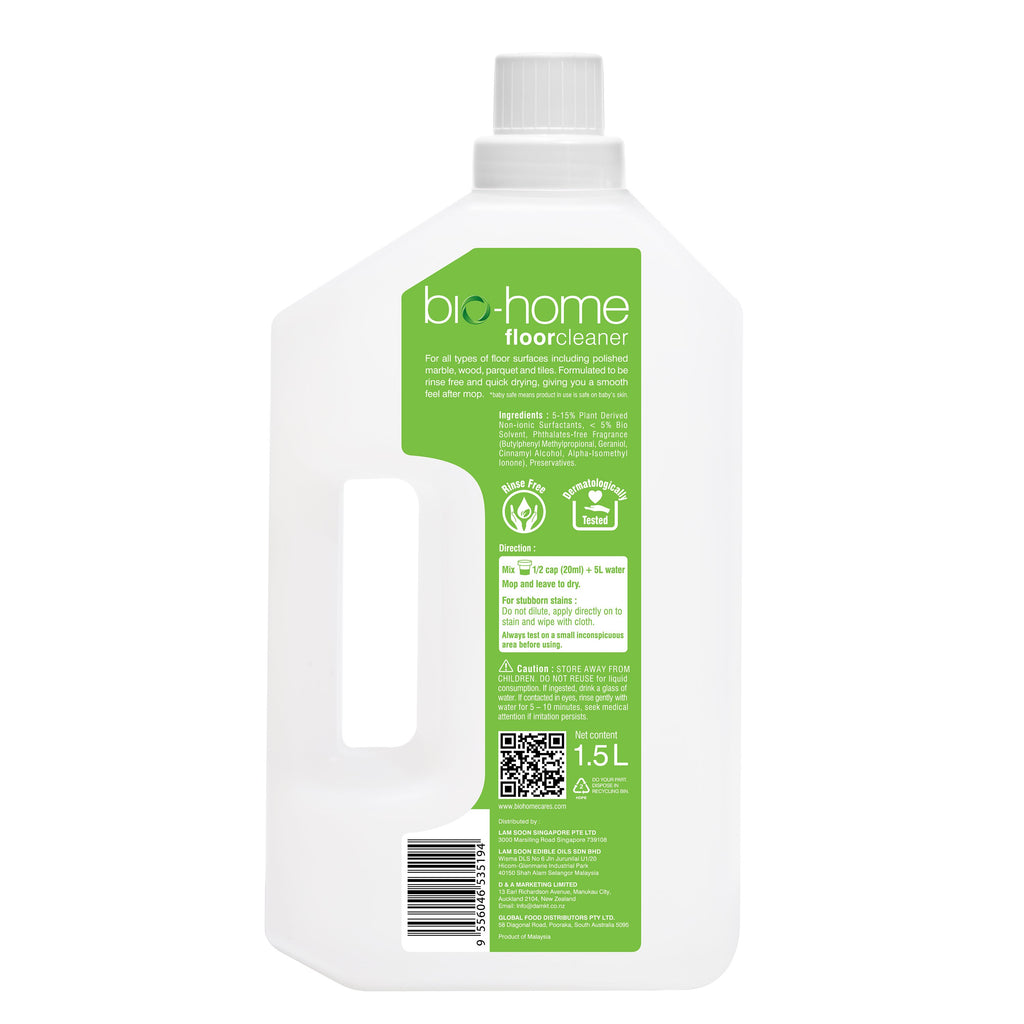 bio-home Floor Cleaner - Oriental Lily & Rose 1.5Ltr