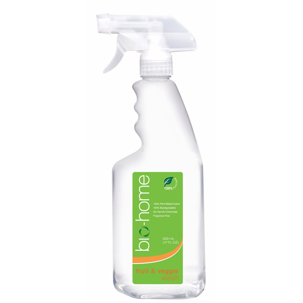 bio-home Fruit & Veggie Wash - Fragrance Free 500ml