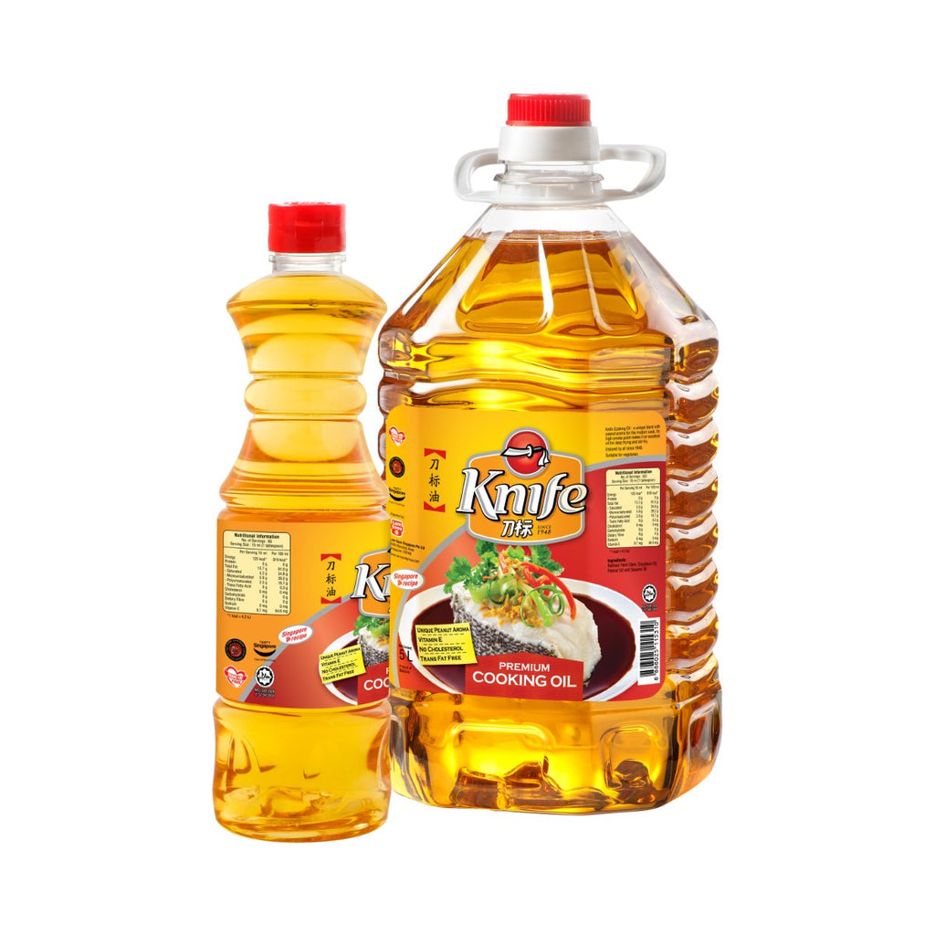 Knife Premium Cooking Oil 5Ltr + 1Ltr