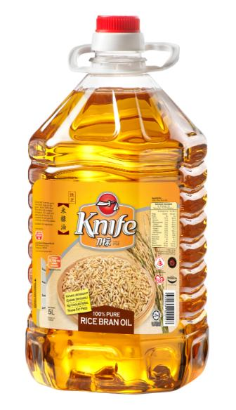 Knife Rice Bran Oil 5Ltr