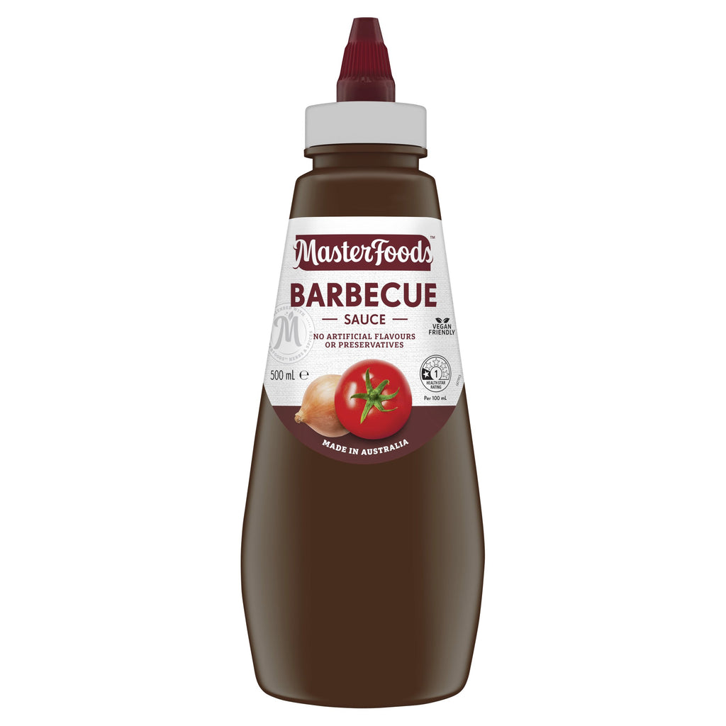 MasterFoods Squeezy Barbecue Sauce 500ml