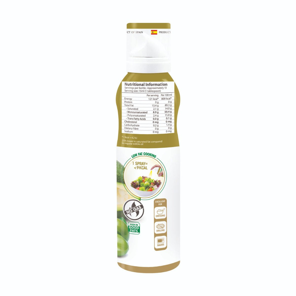 Naturel Avocado Olive Oil Spray 200ml