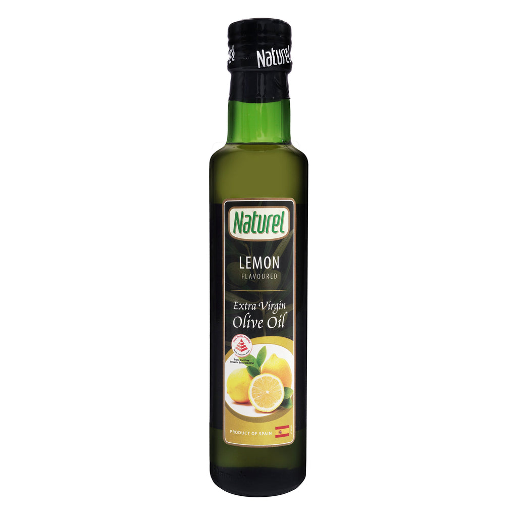 Naturel Extra Virgin Olive Oil - Lemon Flavoured 250ml