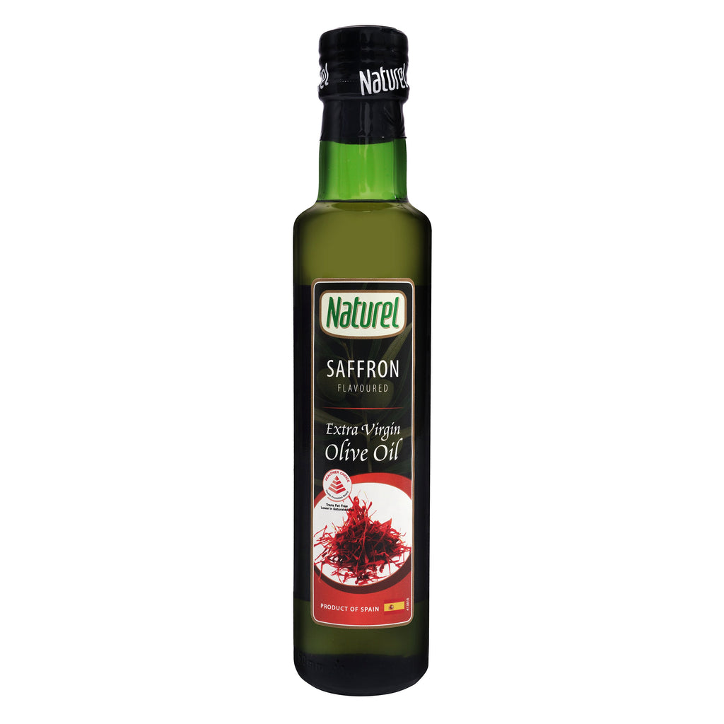 Naturel Extra Virgin Olive Oil - Saffron Flavoured 250ml