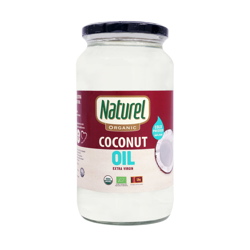 Naturel Organic Extra Virgin Coconut Oil 1Ltr