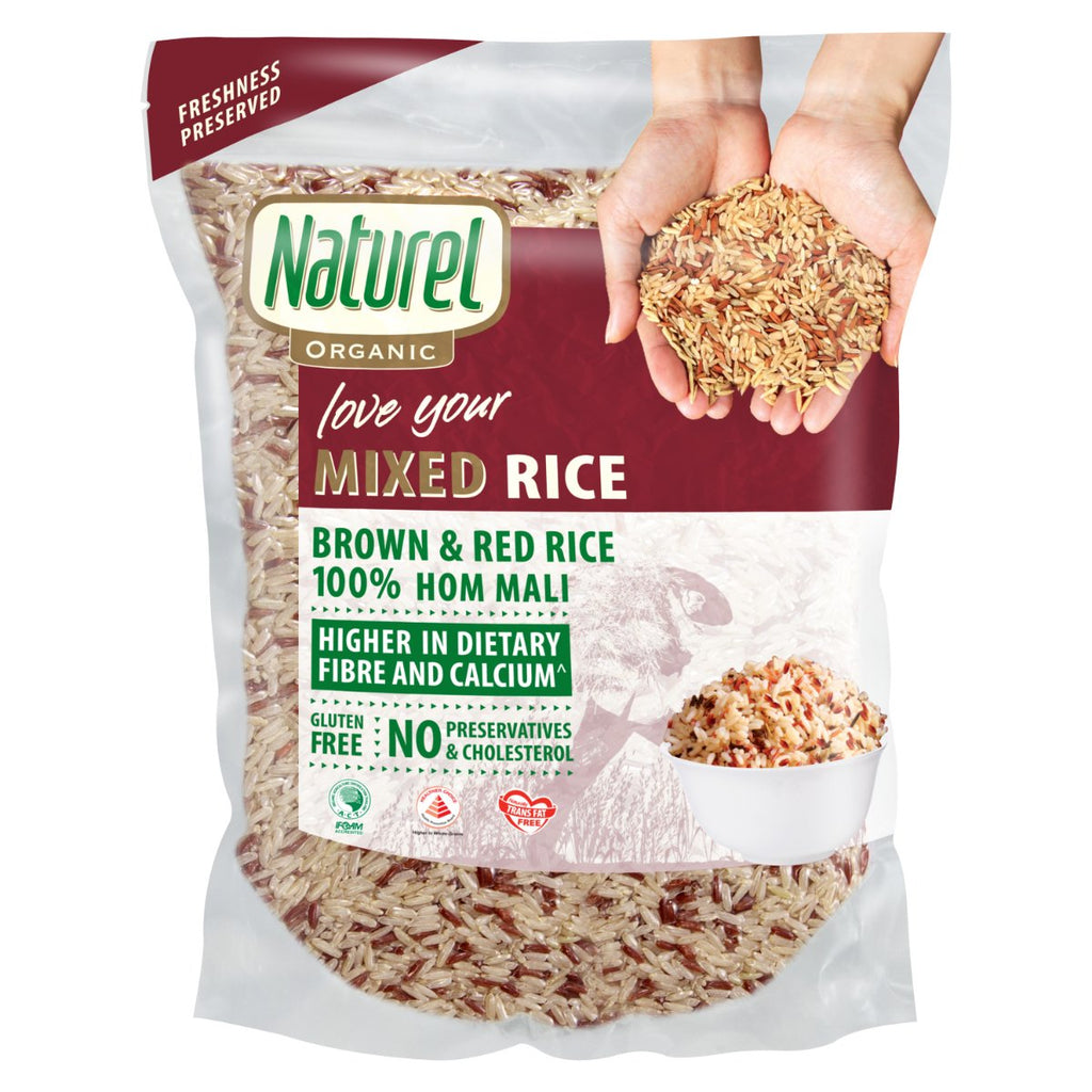 Naturel Organic Mixed Rice 2kg