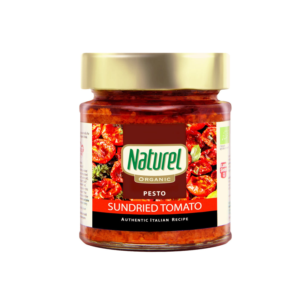 Naturel Organic Sundried Tomato Pesto Sauce 140g
