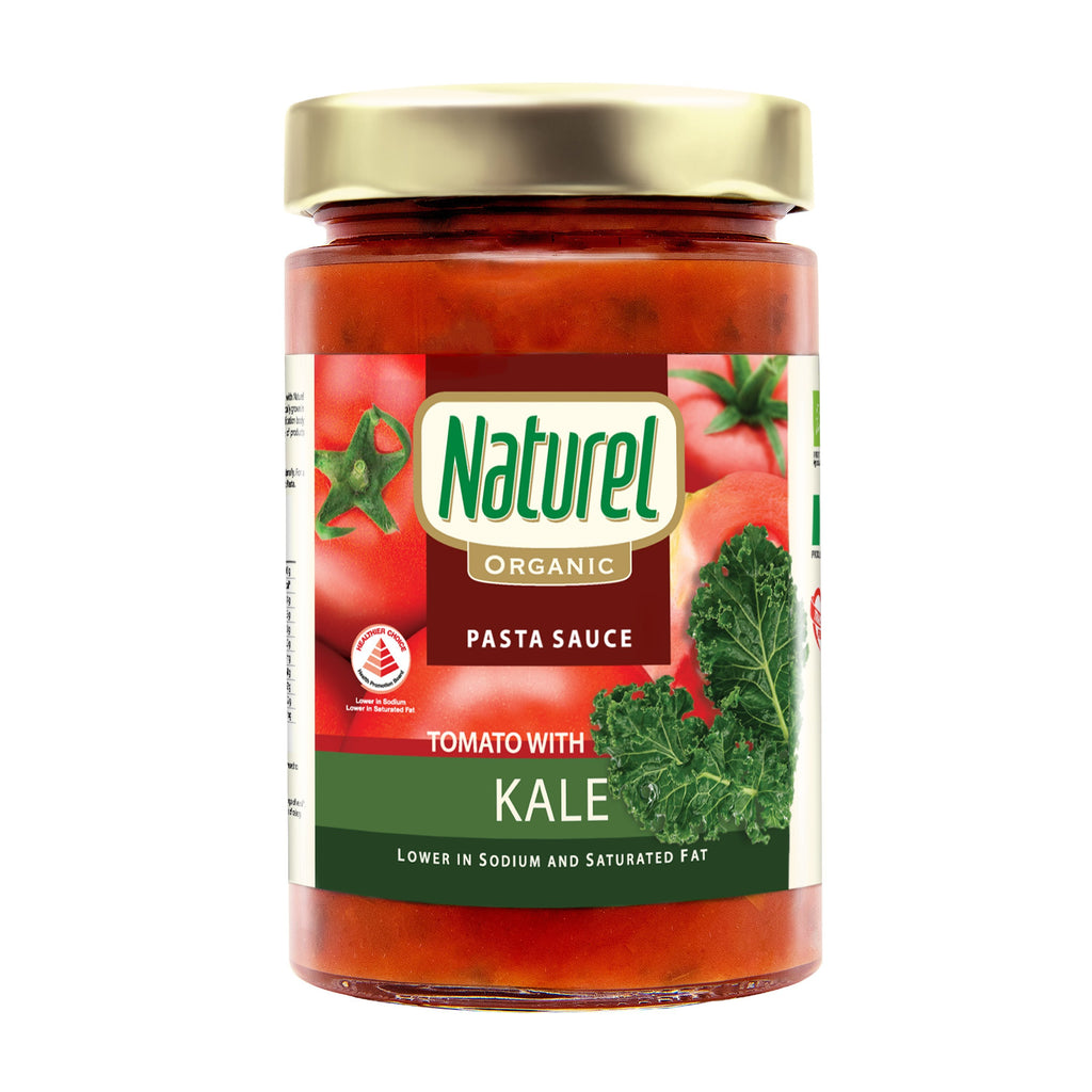 Naturel Organic Tomato with Kale Pasta Sauce 340g