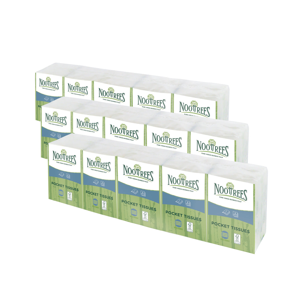 Bamboo 2 Ply Pocket Tissue 10 packs
