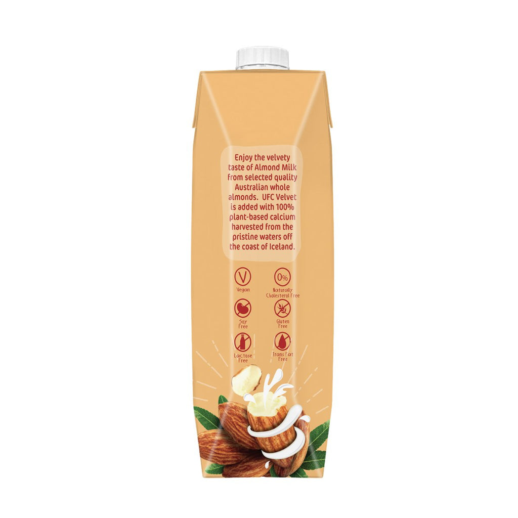 UFC Velvet Almond Milk - Original 1Ltr