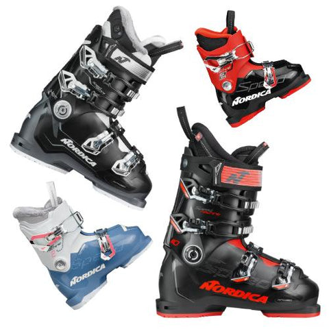Mens', Womens', and Junior Ski Boots from Nordica