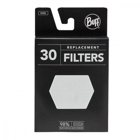 Buff - 30 Filter Pack for Kids' Masks