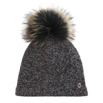 Chaos - New England Pom Beanie in Dark Brown