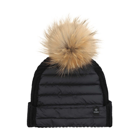 Chaos - Puffy Down Pom Beanie