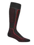 Icebreaker - Men Ski+ Light OTC Socks in Jet HTHR