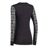Kari Traa - Knute Long Sleeve Base Layer in Black, back
