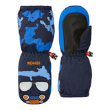 Kombi - Car Family Children Mitt in Blue Commander