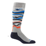 Kombi - Ski Bum Adult Sock in Heather Charcoal