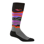 Kombi - Ski Bum Adult Sock in Northern Purple