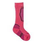 Kombi - The Brave Jr Sock in Wild Pink