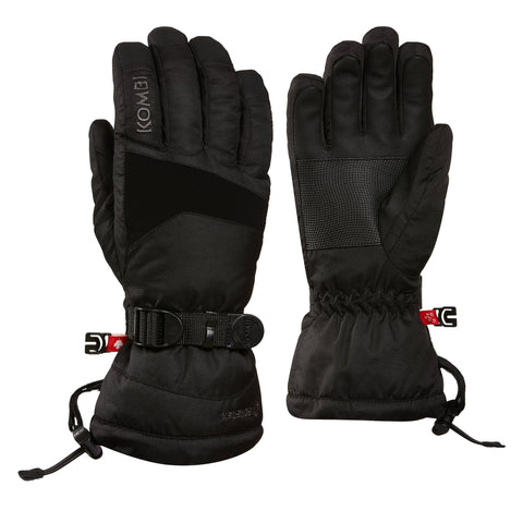 Kombi - The Edge Men Glove in Black Crosshatch
