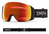 Smith - 4D Mag Goggles in Chromapop Red Mirror Black