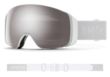Smith - 4D Mag Goggles in Chromapop Sun Platinum Mirror White Vapor