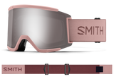 Smith - Squad XL Goggles in Chromapop Sun Platinum Mirror Rock Salt Tannin