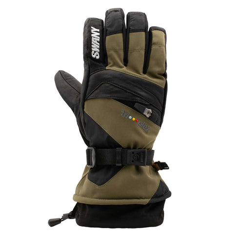 Swany - Mens' X-Change Glove in Military Olive/Black