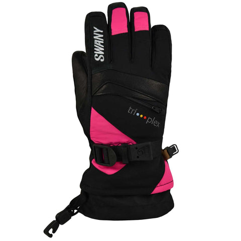 Swany - X-Change Junior Glove in Black/Magenta