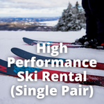 High Performance Ski Rental (Single Pair)