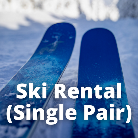Ski Rental (Single Pair)